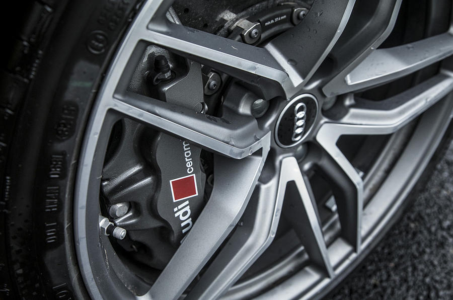 Audi Sport brake calipers
