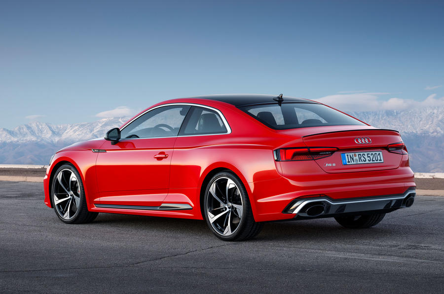 new audi rs5 coupé to cost from £62,900 | autocar