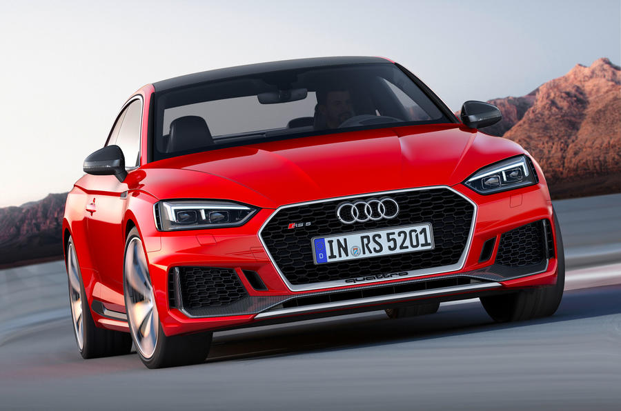 New Audi Rs5 Coup 233 To Go On Sale In June Autocar