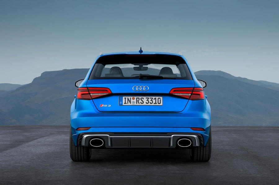 394bhp audi rs3 mega hatch on sale from 44 300 autocar. Black Bedroom Furniture Sets. Home Design Ideas