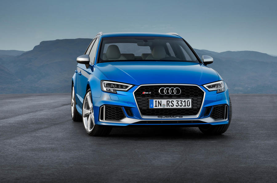 Updated Audi Rs3 Hatch Gets 394bhp Autocar