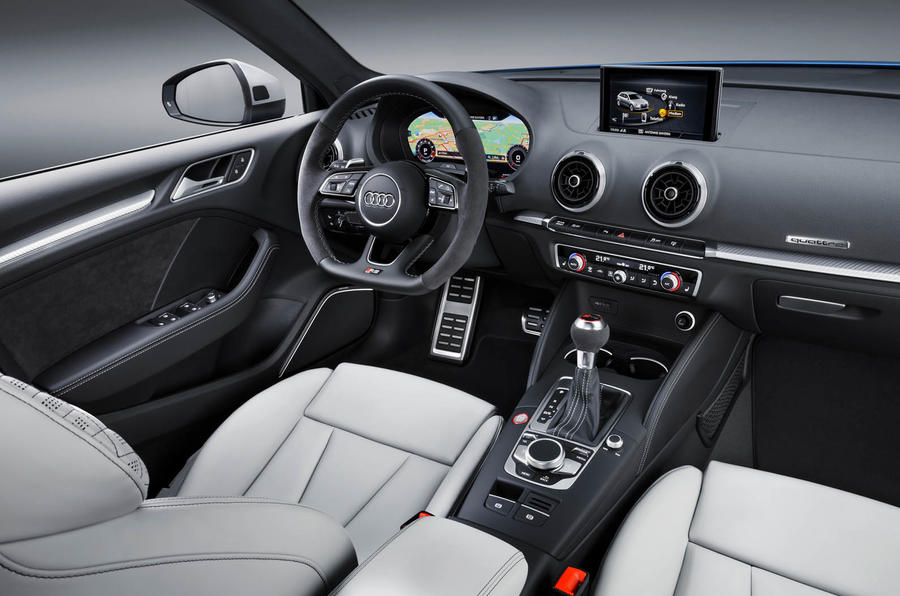 Audi RS3 hatchback interior