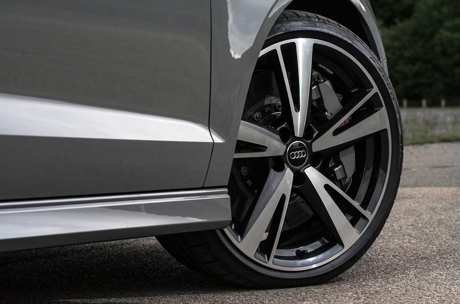 Audi RS3 saloon alloy wheels