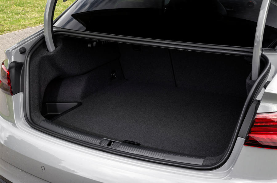 Audi RS3 saloon boot space
