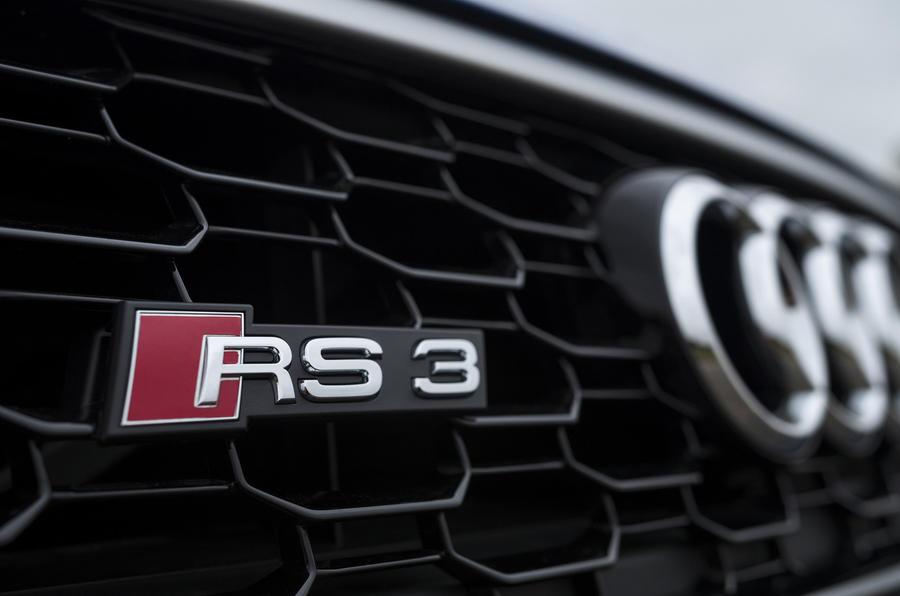 Audi RS3 Sportback badging