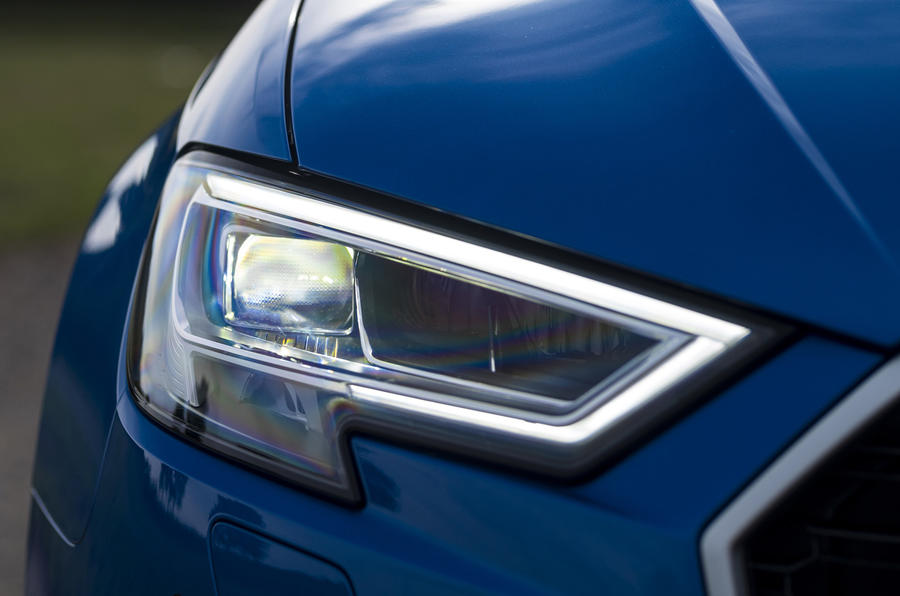 Audi RS3 Sportback LED headlights