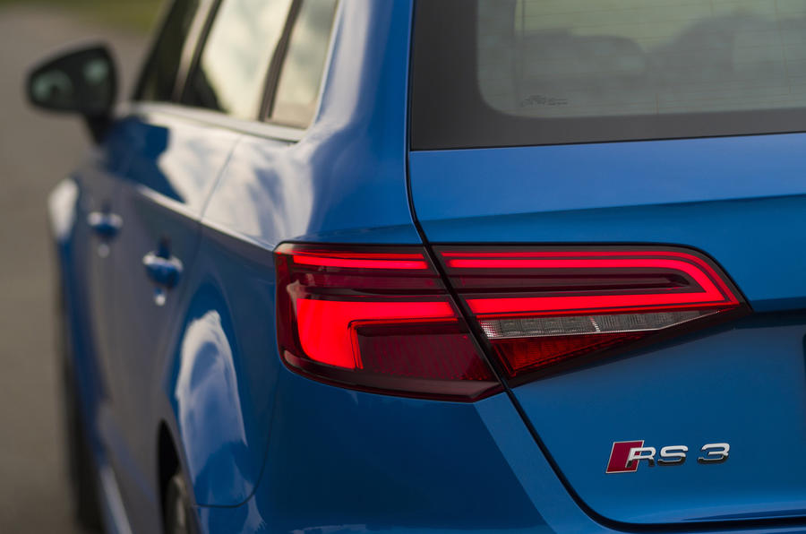 Audi RS3 Sportback rear lights