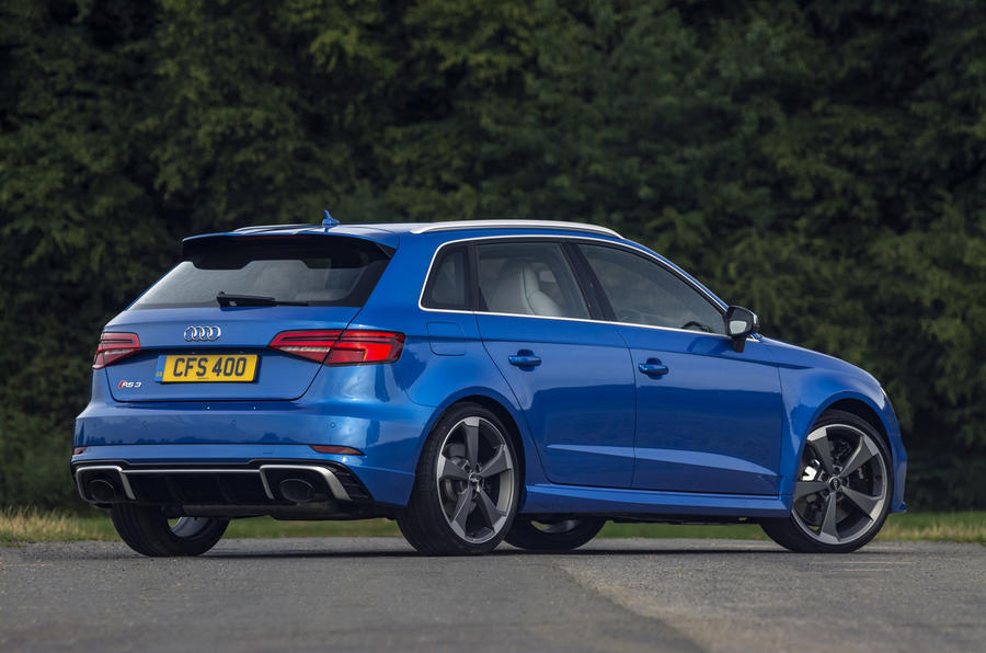 Audi RS3 Sportback rear quarter