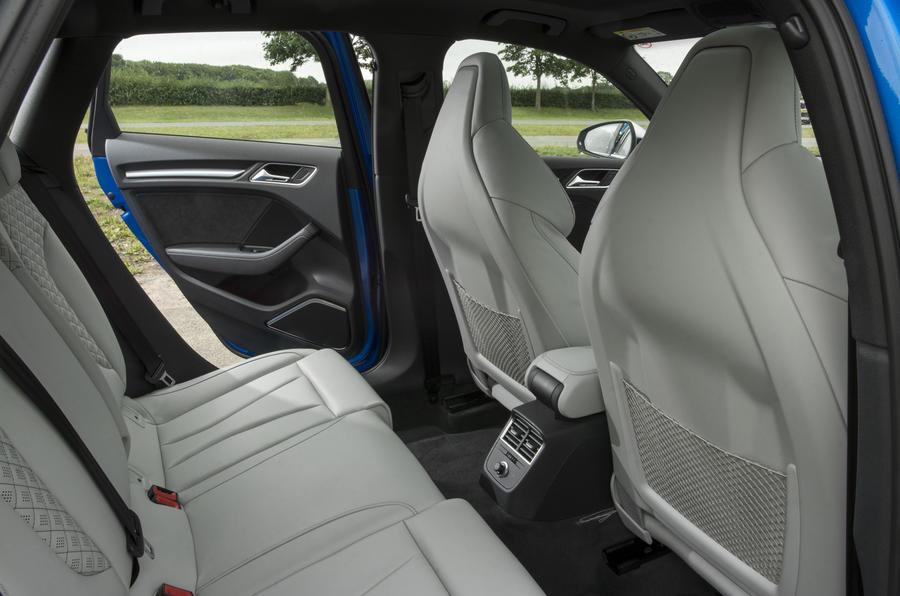 Audi RS3 Sportback rear seats