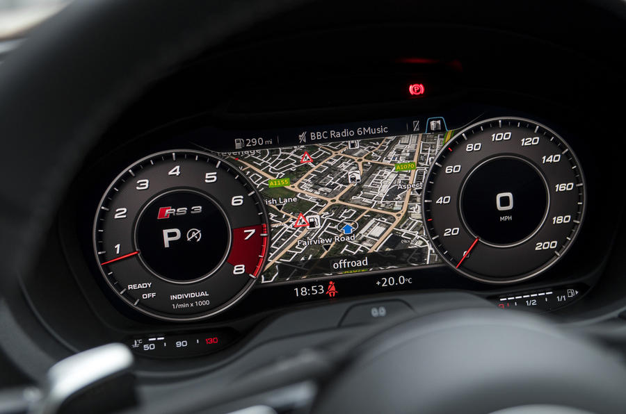 Audi RS3 Sportback Virtual Cockpit