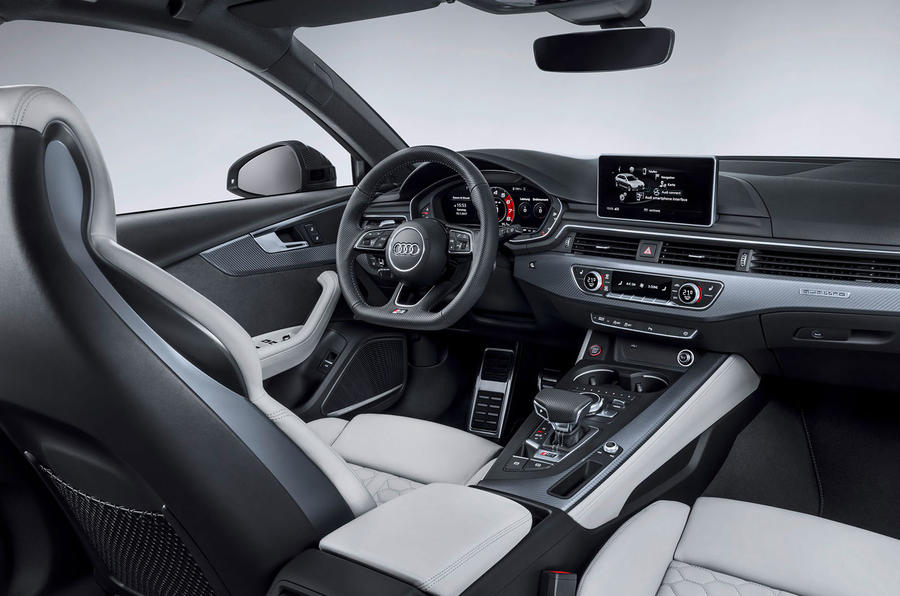 New audi rs4 avant unveiled with 125lb ft torque boost for Interieur cuir audi a6