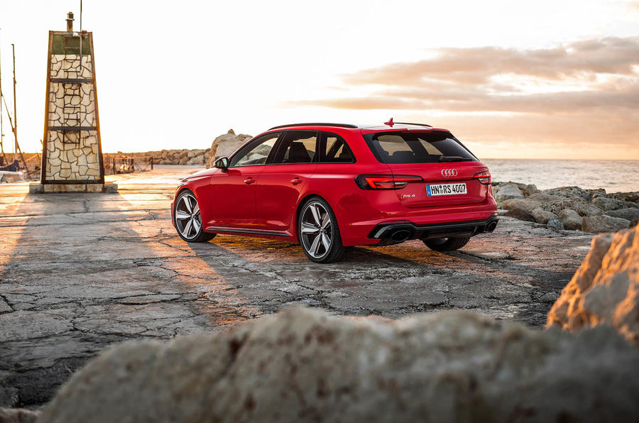Audi RS4 Avant rear quarter