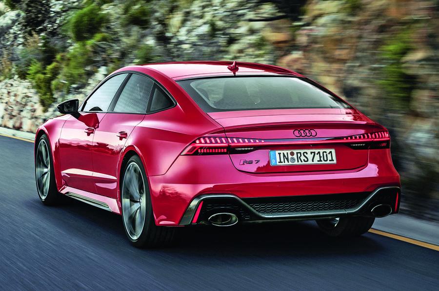 2020 Audi RS7 Sportback reveal - rear