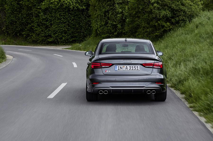 1470kg Audi S3 Saloon