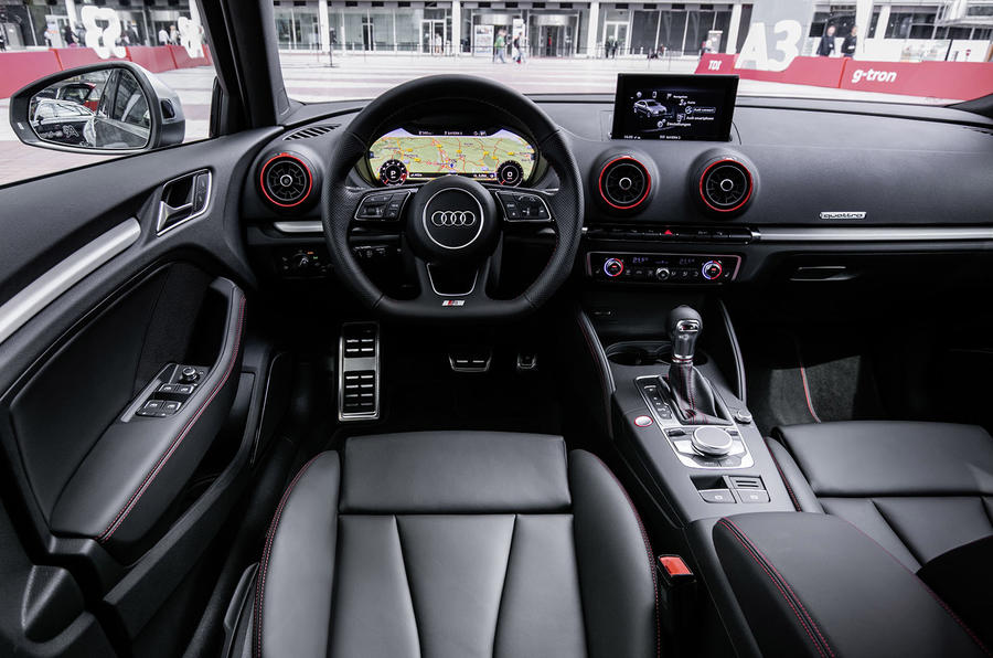 Audi S3 Saloon dashboard