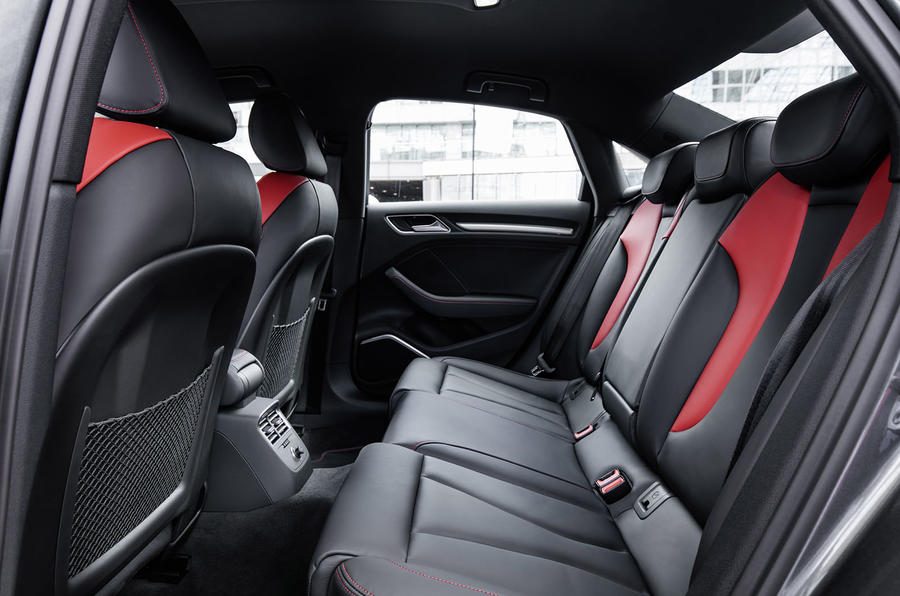 Audi S3 Saloon rear seats