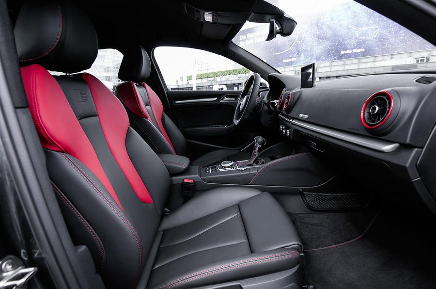 Audi S3 Saloon interior