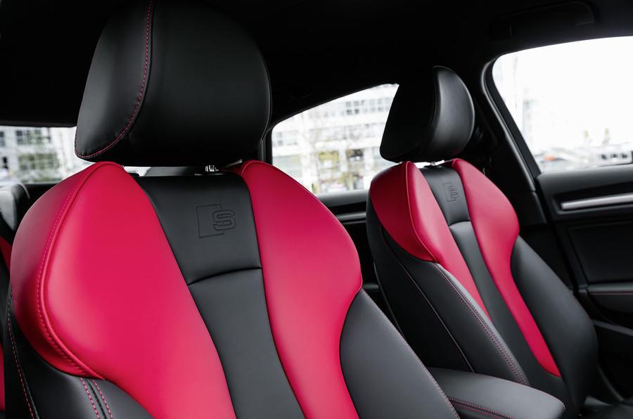 Audi S3 Saloon sport seats