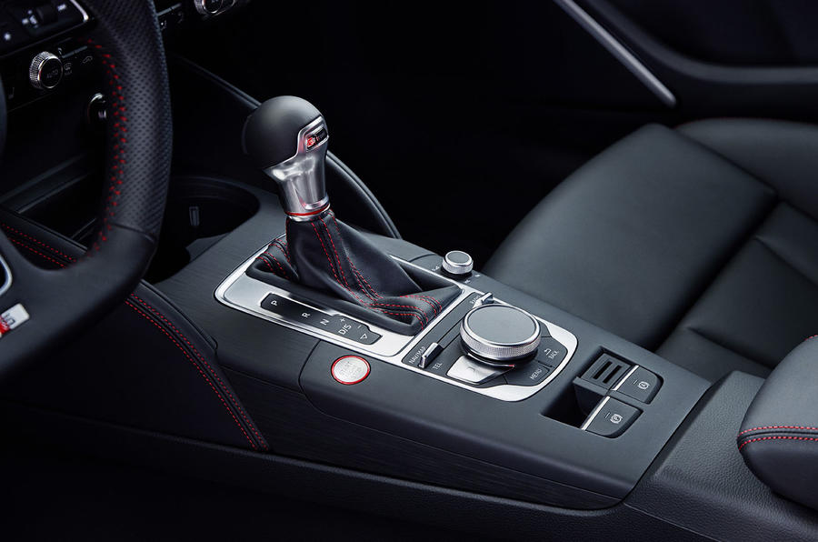 Audi S3 Saloon S Tronic gearbox