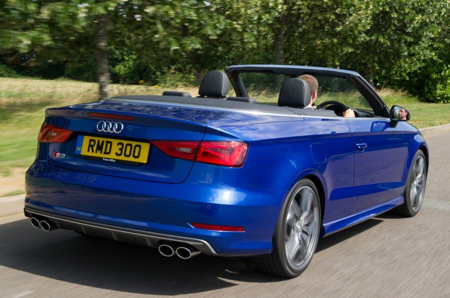 audi s3 cabriolet review autocar. Black Bedroom Furniture Sets. Home Design Ideas