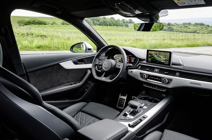 2017 Audi S4 saloon interior