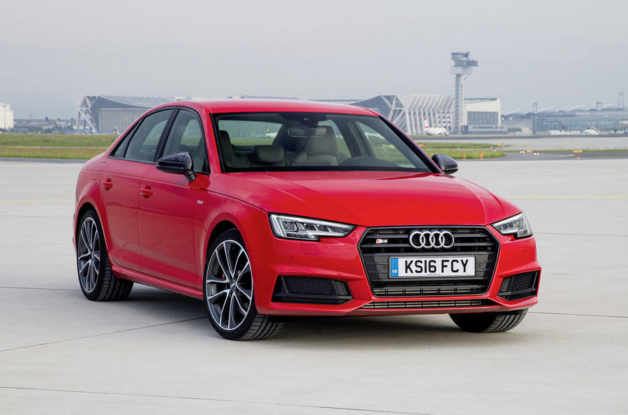 2017 Audi S4 saloon driving
