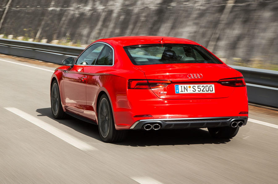Audi S5 rear