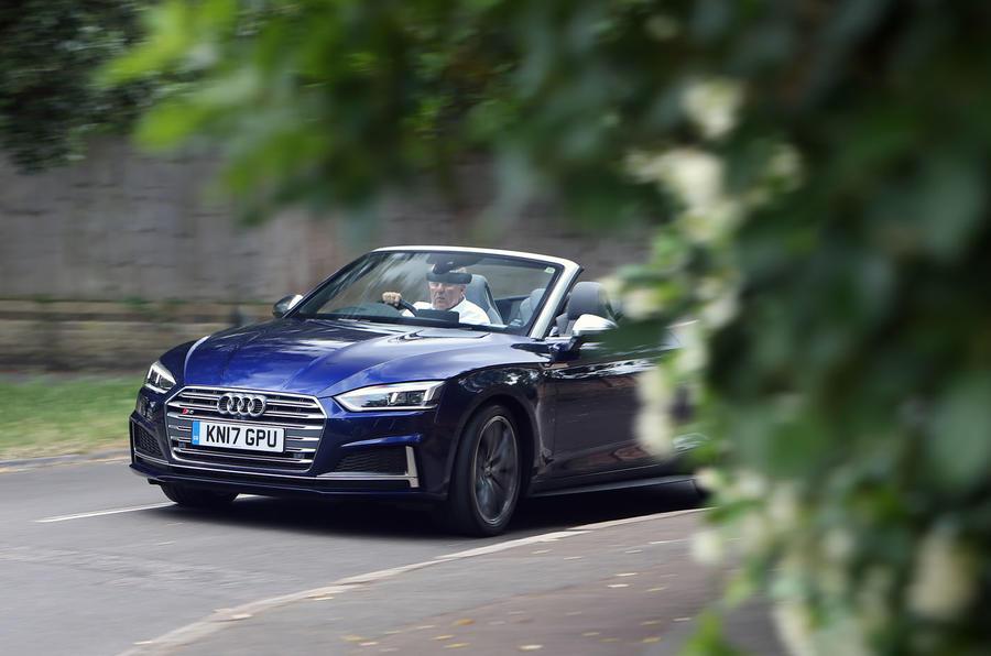 Audi S5 Cabriolet front end