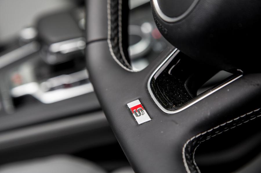 Audi S5 Cabriolet S badging