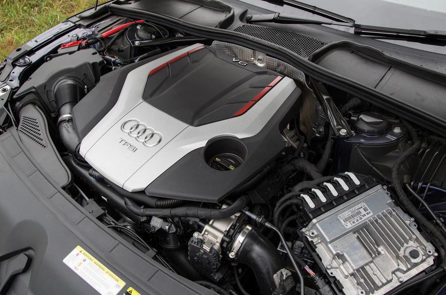 3.0-litre V6 Audi S5 Cabriolet engine