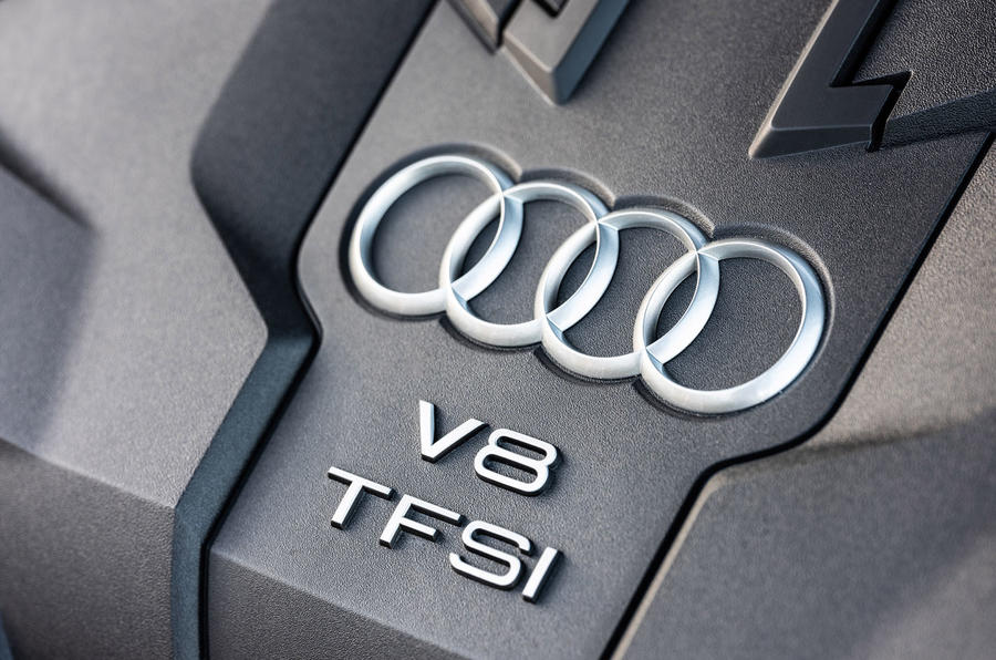 Audi S8 2019 first drive review - engine