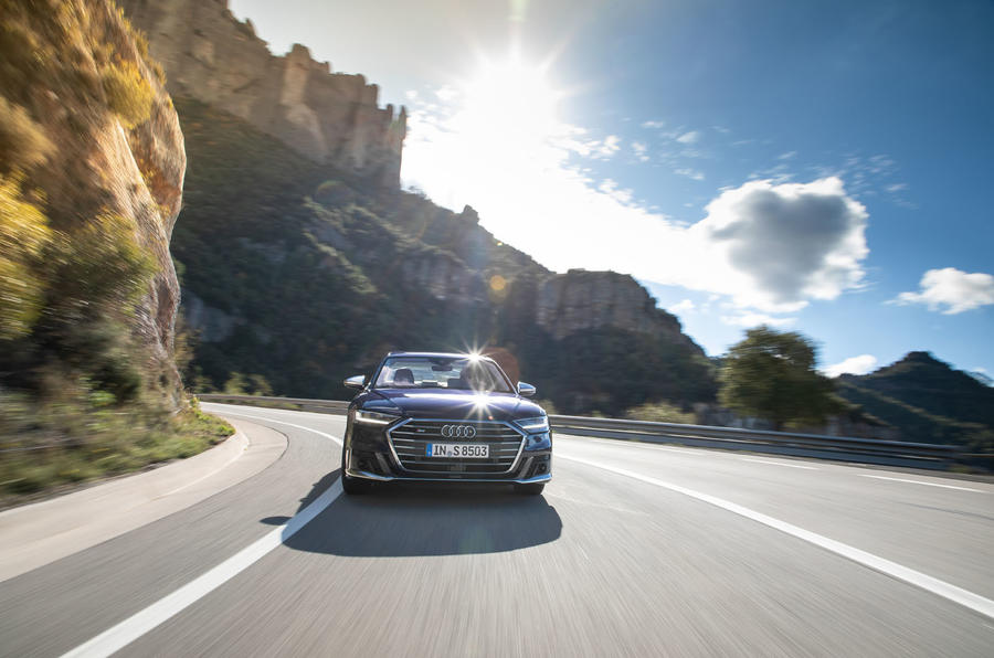 Audi S8 2019 first drive review - on the road