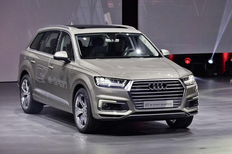 Audi Reveals New Plug In Hybrid System For Q7 E Tron 2 0 Tfsi Quattro Autocar