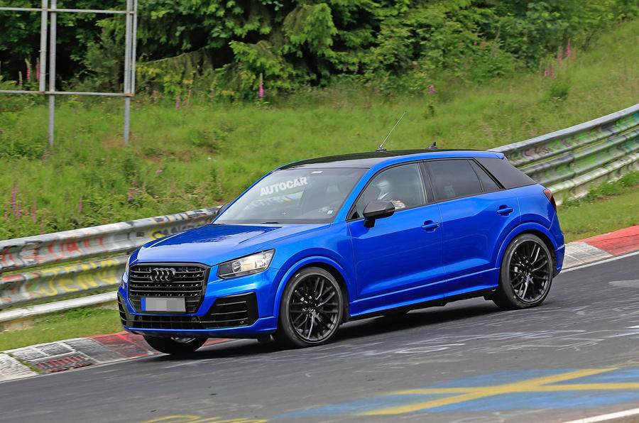 Audi Sq2 Breaks Cover At The N 252 Rburgring With Up To 300bhp