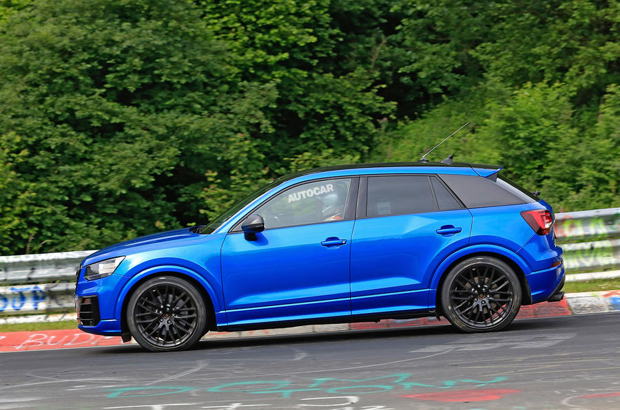 Audi SQ2 breaks cover at the Nürburgring with up to 300bhp ...