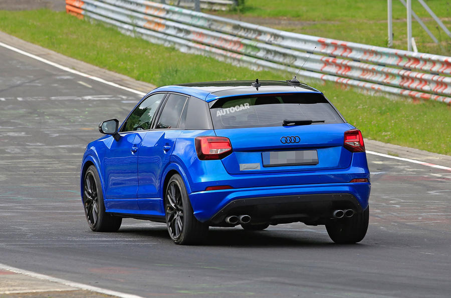 Audi 2.0 T >> Audi SQ2 breaks cover at the Nürburgring with up to 300bhp | Autocar
