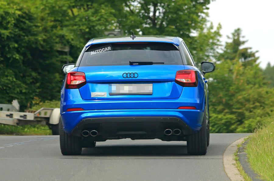 Audi SQ2 spy