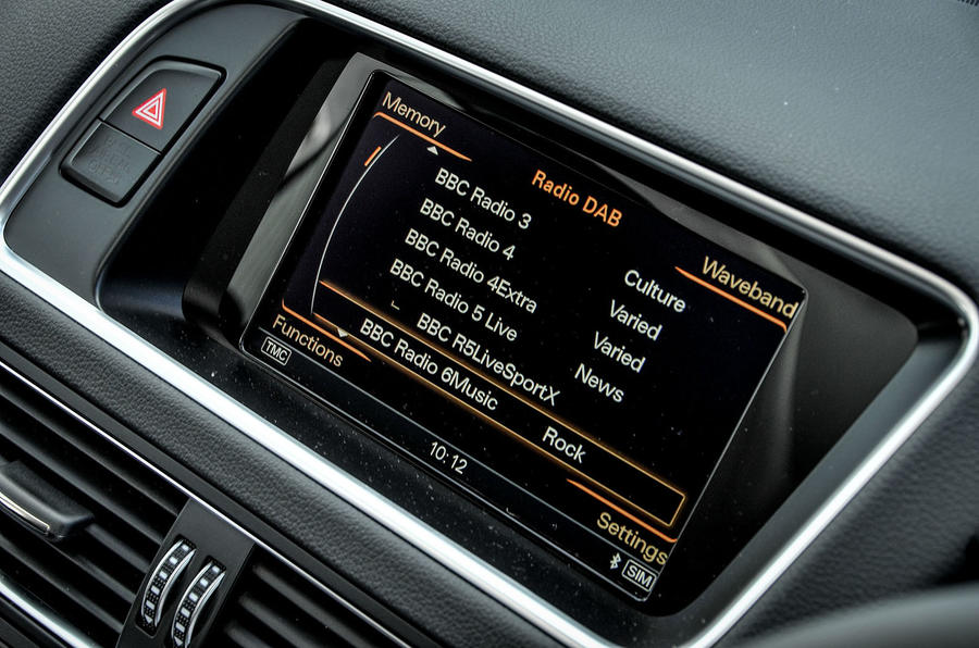 Audi SQ5 Plus 2016 UK review MMI infotainment