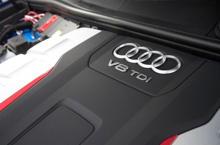 4.0-litre V8 Audi SQ7 engine