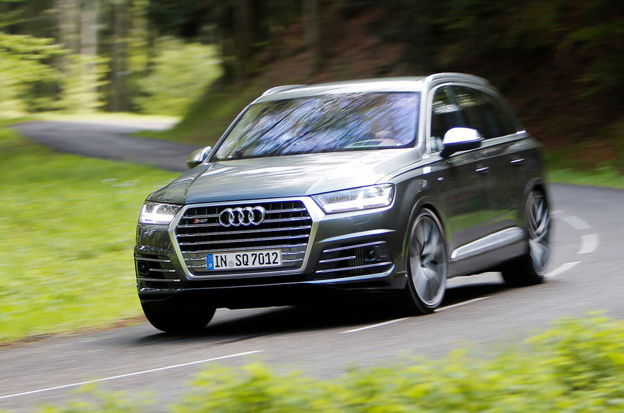 2016 Audi Sq7 Review Review Autocar