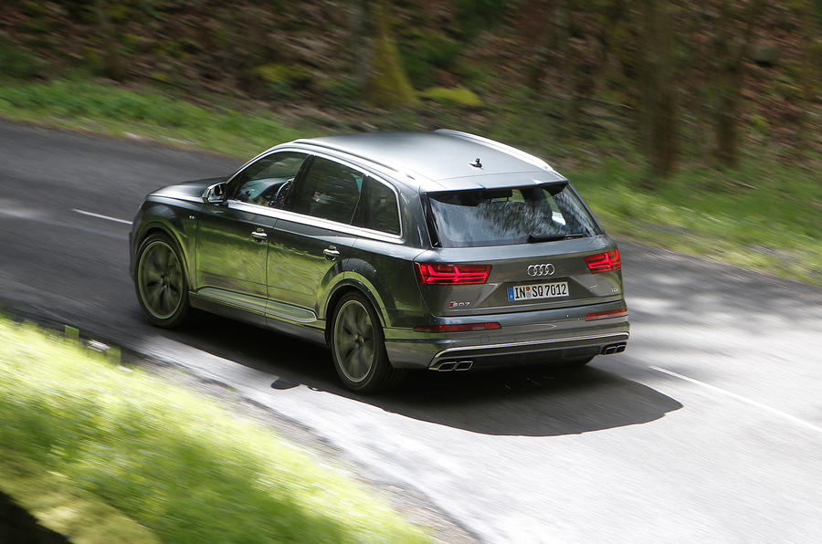 155mph Audi SQ7