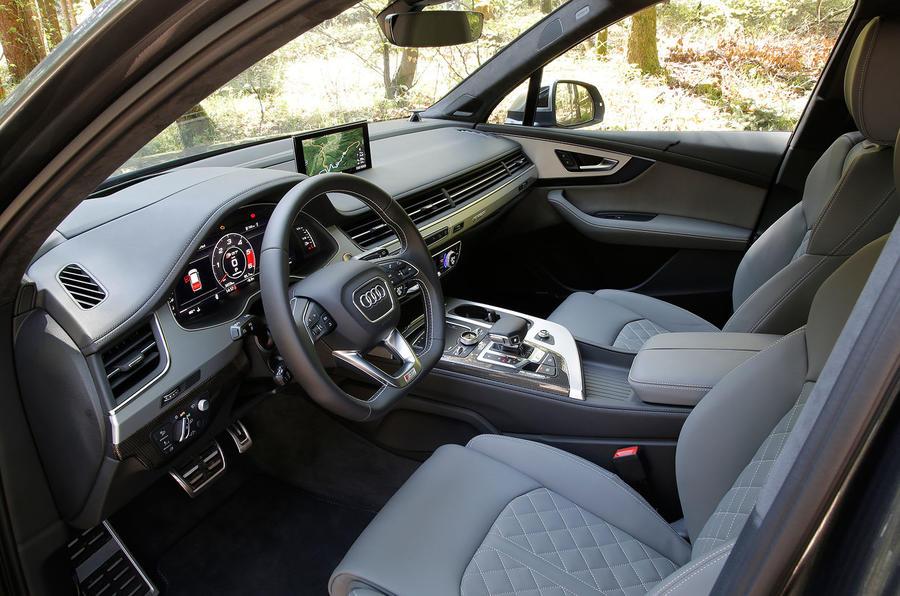2016 Audi Sq7 Review Review Autocar