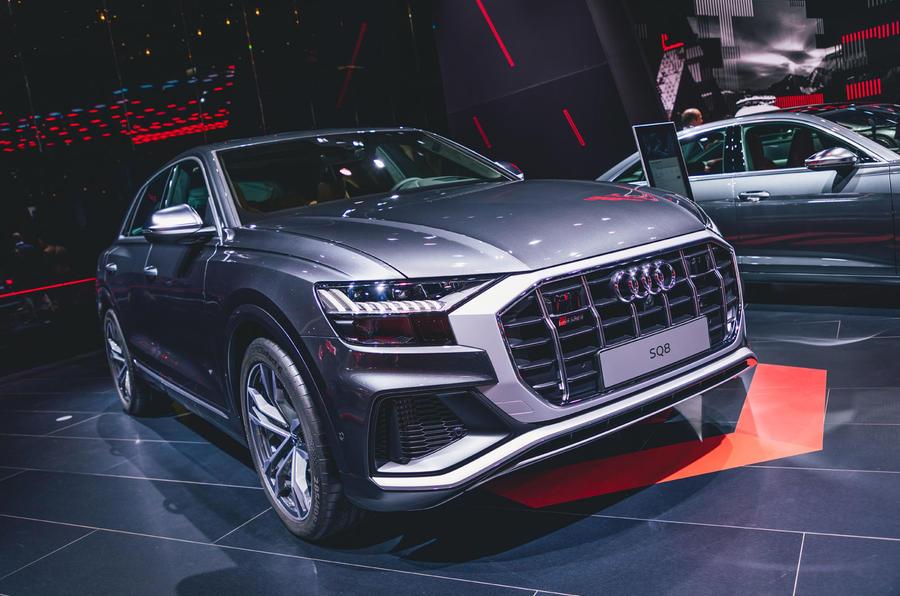 2020 Audi SQ8 at Frankfurt motor show