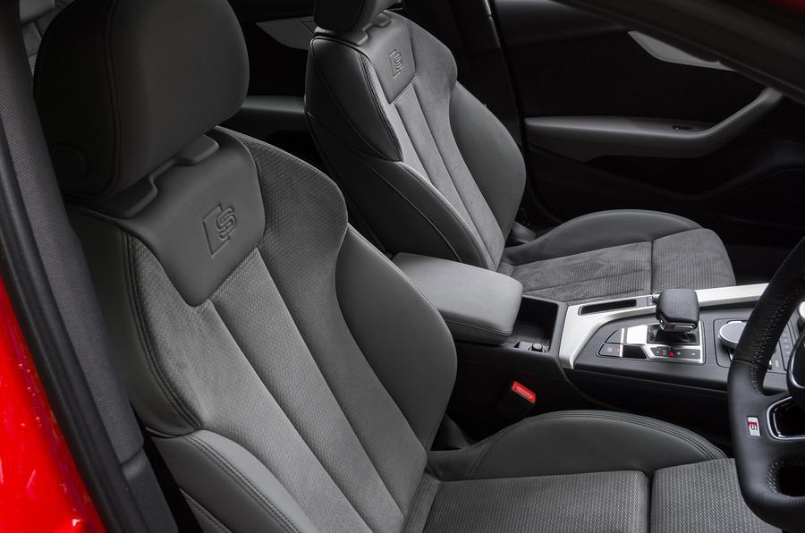 Audi A4 sports seats