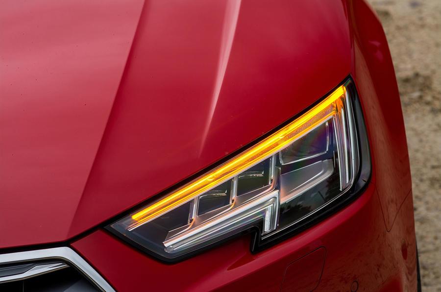 Audi A4 LED headlights