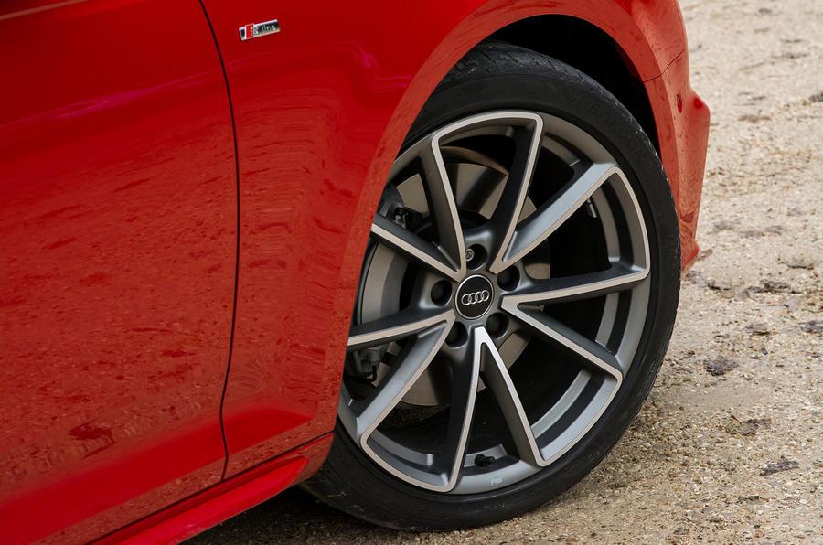 20in Audi A4 alloy wheels