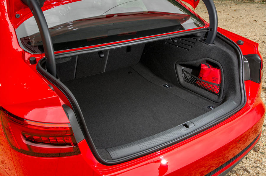 Audi A4 boot space