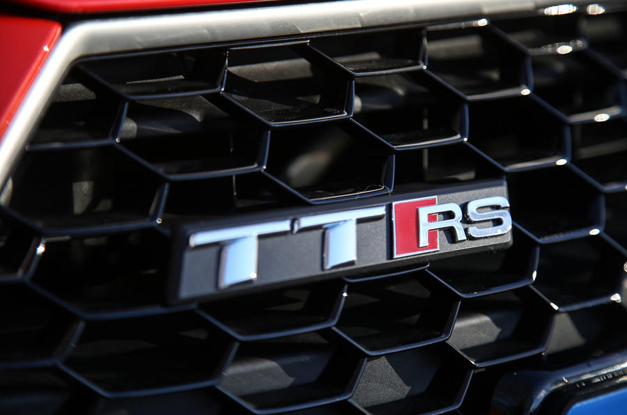 Audi TT RS Coupé badging