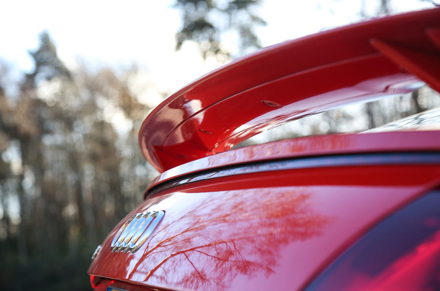 Audi TT RS Coupé rear brake light