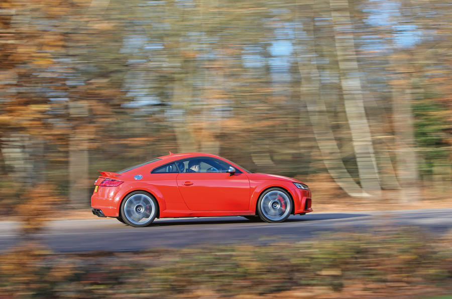 Audi TT RS Coupé side profile